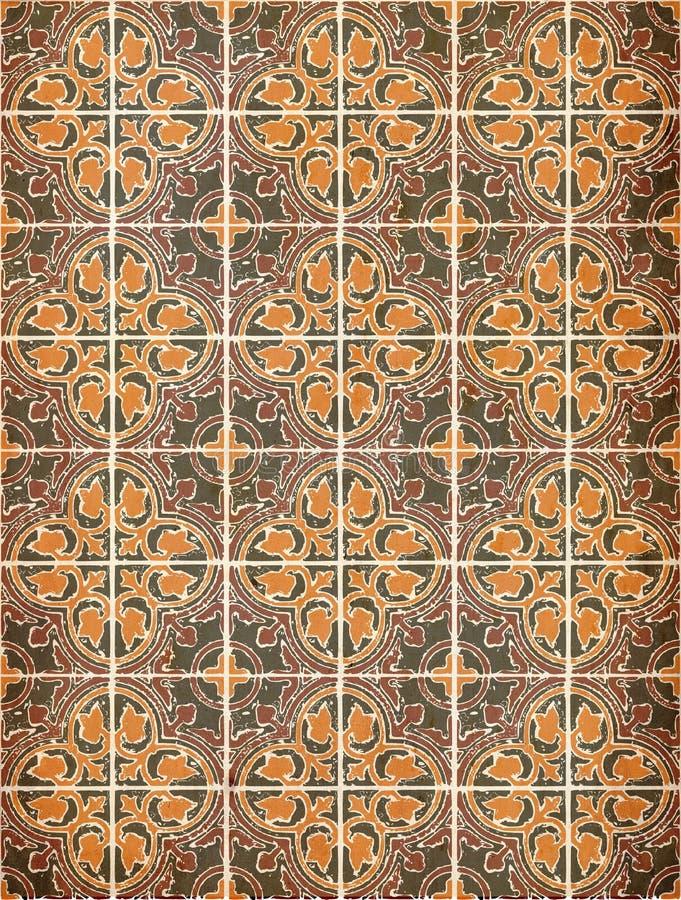 Download Grunge tiles stock illustration. Image of grunge, texture - 14624204