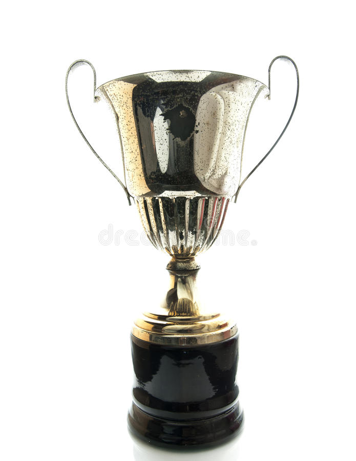Grunge trophy royalty free stock images