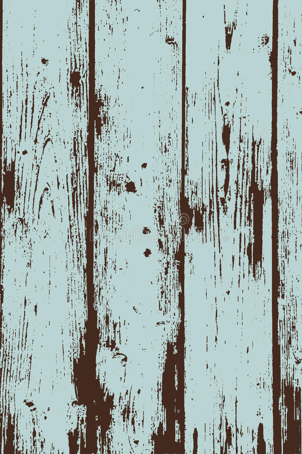 Grunge Two Colors Wooden Wall Pattern Stock Vector
