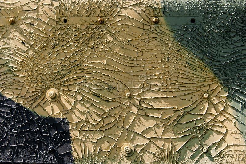 Grunge uitstekende textuur of zwarte en gele kleur als achtergrond royalty-vrije stock foto's