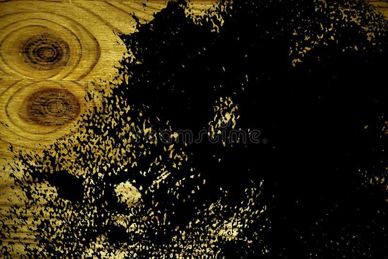 Grunge ultra gele Houten textuur, scherpe raadsoppervlakte voor ontwerpelementen stock fotografie