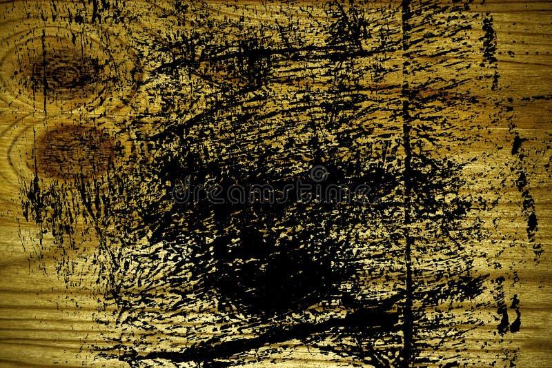 Grunge ultra gele Houten textuur, scherpe raadsoppervlakte voor ontwerpelementen stock afbeeldingen
