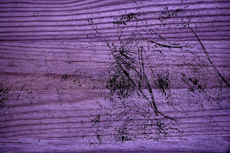 Grunge ultra purpere Houten textuur, scherpe raadsoppervlakte voor ontwerpelementen stock afbeeldingen