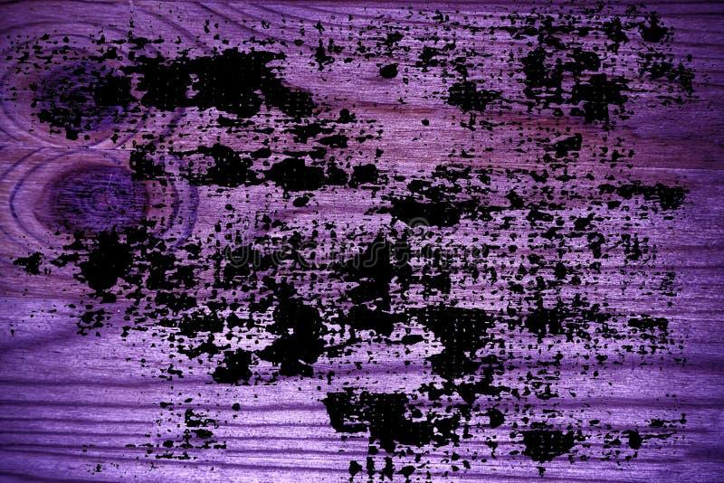 Grunge ultra purpere Houten textuur, scherpe raadsoppervlakte voor ontwerpelementen royalty-vrije stock fotografie