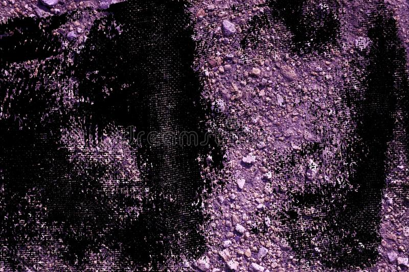 Grunge Ultra purple Ground texture, sand surface, stone background, good for design element. S stock illustration