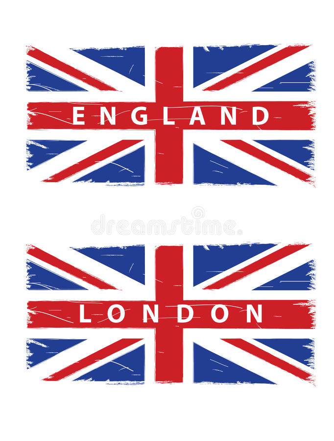 Download Grunge Union Jack Flags Royalty Free Stock Photos - Image: 25998028