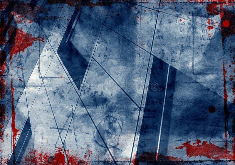 Grunge urbano ilustração stock