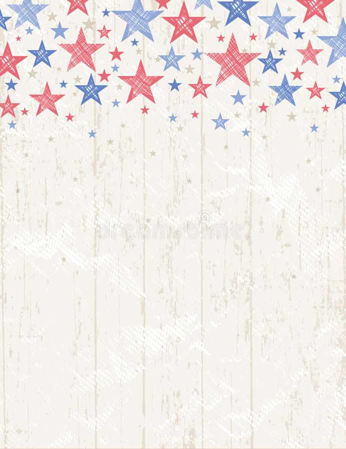 Grunge usa background, vector royalty free stock photography