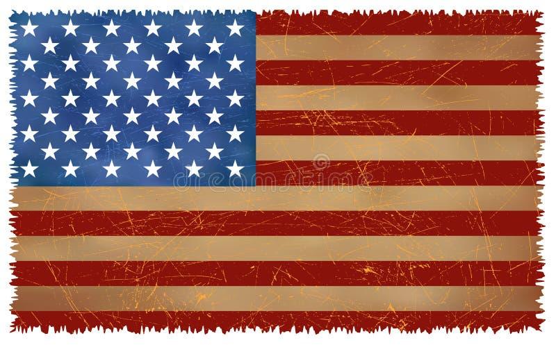 Download Grunge USA Flag Stock Image - Image: 7534941
