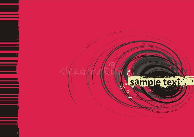 Grunge vector background royalty free illustration