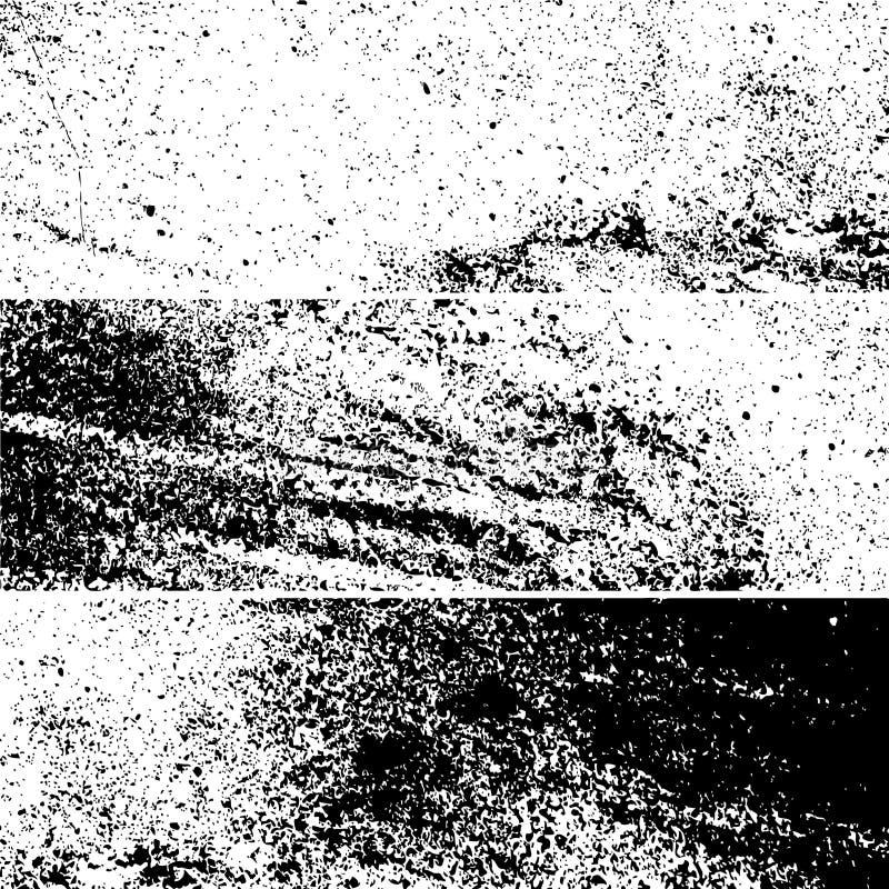 Grunge vector background. Set of grunge vector background texture template vector illustration
