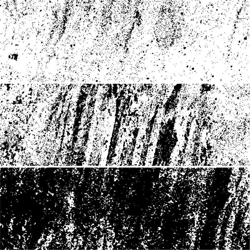 Grunge vector background texture. Set of grunge vector background texture template royalty free illustration