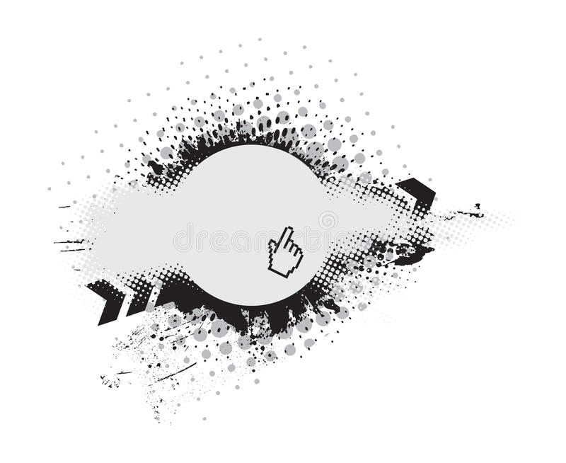 Download Grunge vector composition stock vector. Illustration of mixer - 10525324
