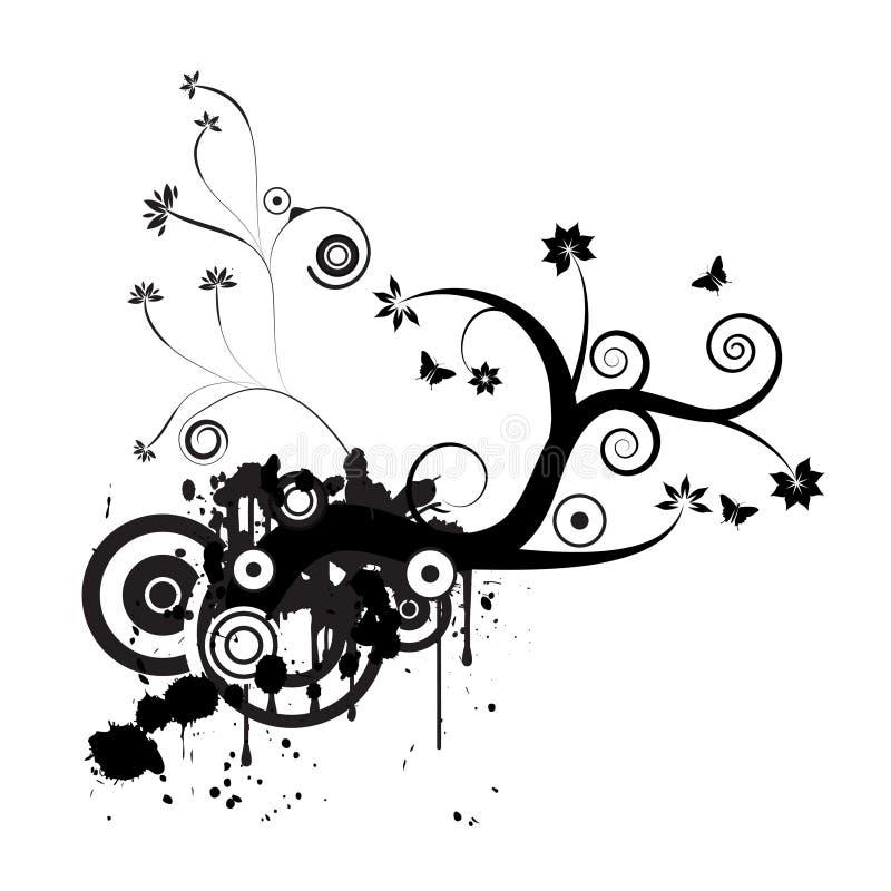 Download Grunge Vector Floral Design Stock Vector - Image: 2598310