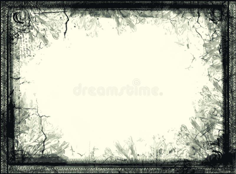 Grunge Vector Frame vector illustration