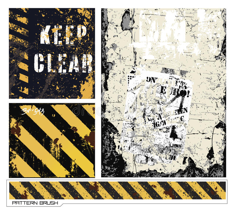 Download Grunge Vectors Royalty Free Stock Photos - Image: 21741798