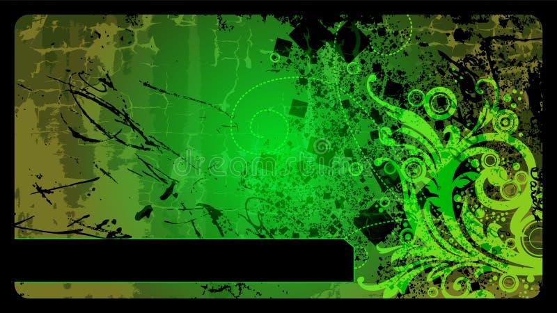 Grunge vektorhintergrund lizenzfreie abbildung