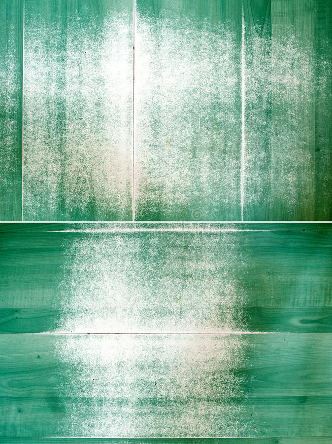 Grunge verkleurde groene panelen stock illustratie