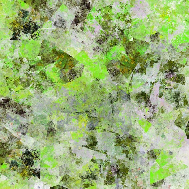 Grunge verte illustration de vecteur