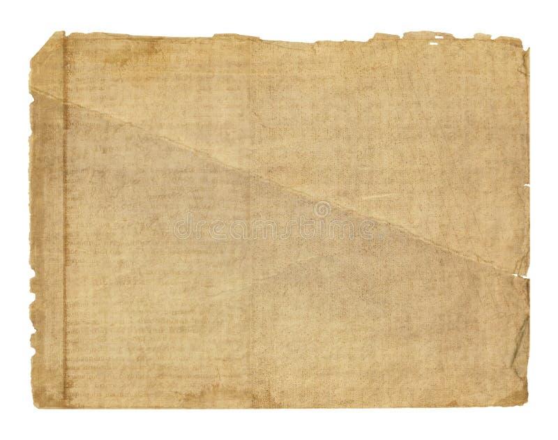 Grunge vervreemd document ontwerp royalty-vrije illustratie