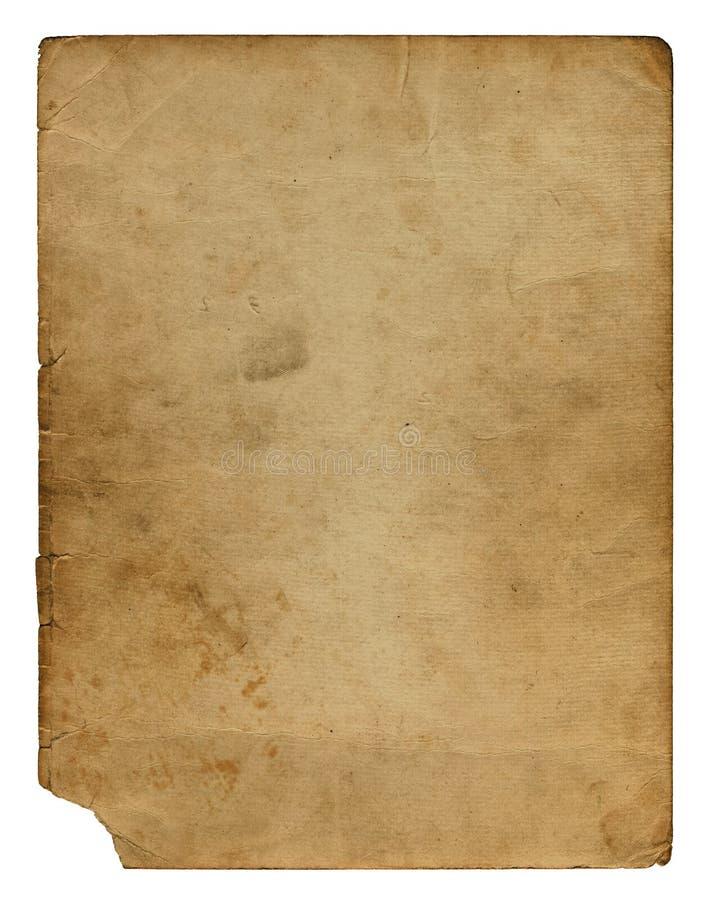Grunge vervreemd document ontwerp vector illustratie
