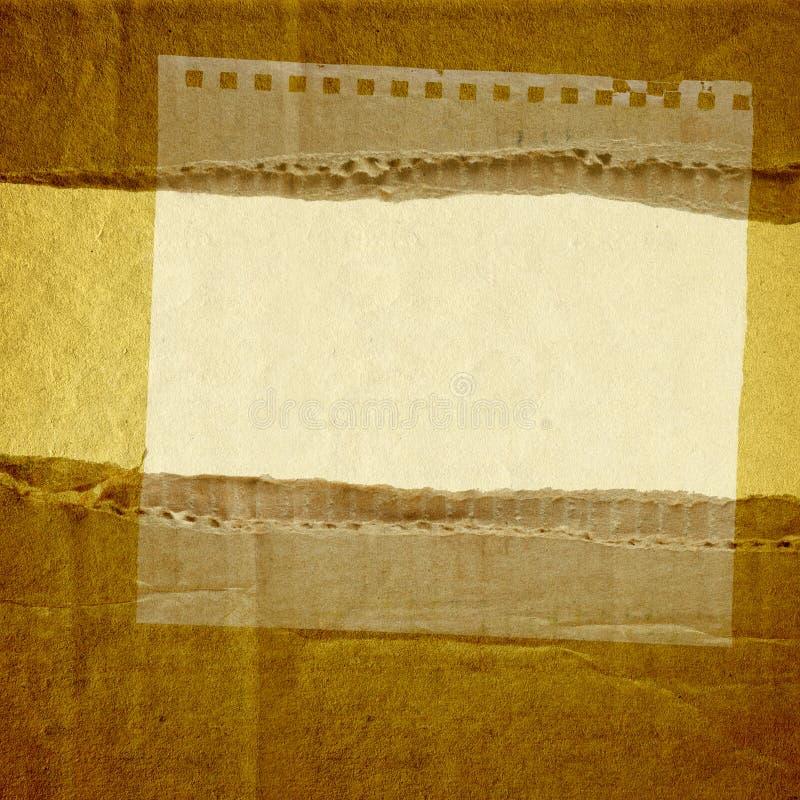Grunge vintage retro background stock image