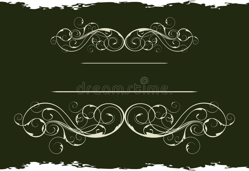 Grunge vintage style royalty free illustration