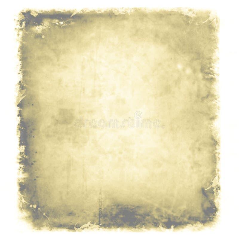 Grunge, vintage, viejo fondo de papel ejemplo de la textura envejecida, llevada y manchada del pedazo de papel Para su diseño ilustración del vector