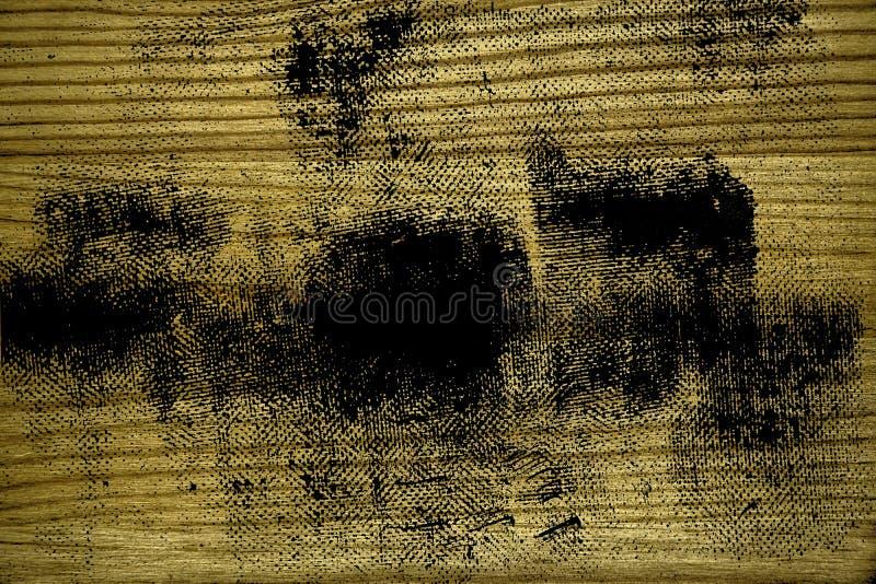 Grunge vuile ultra gele Houten textuur, scherpe raadsoppervlakte voor ontwerpelementen stock foto's