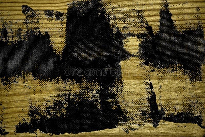 Grunge vuile ultra gele Houten textuur, scherpe raadsoppervlakte voor ontwerpelementen royalty-vrije stock afbeelding