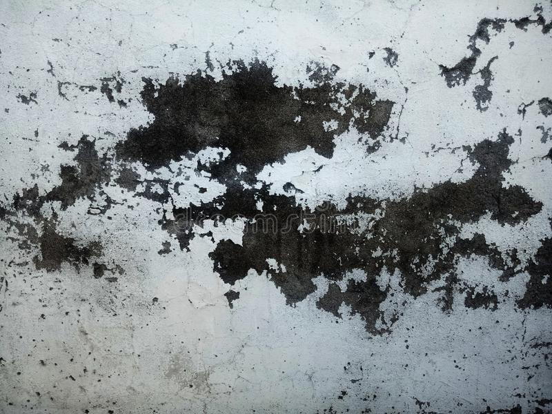 Grunge wall creaks textured background. royalty free stock photography
