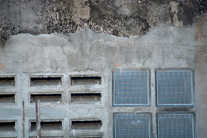 Grunge wall garage. Grunge garage or house wall background. Photo taken on: October 29th, 2014 stock photography