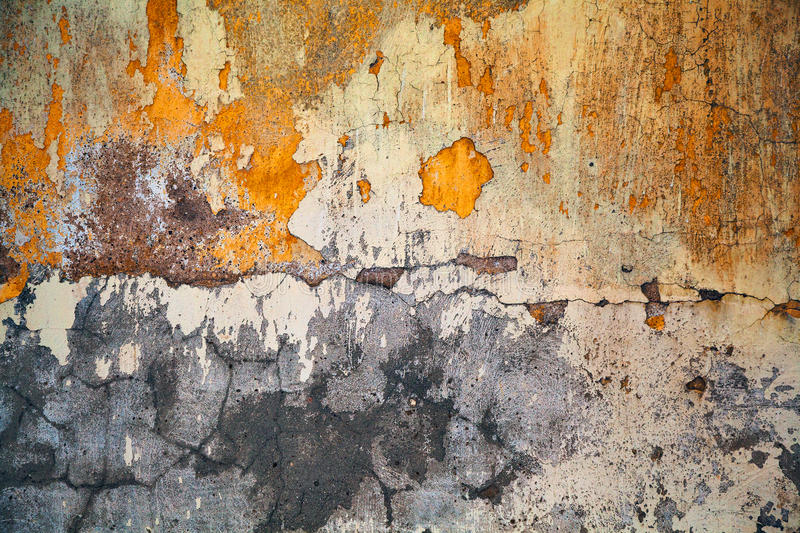 Grunge wall, highly detailed textured background. Beautiful variety of textures stock photography