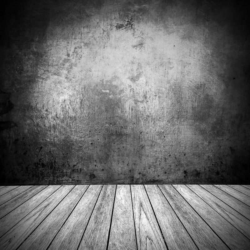 Grunge wall room texture. With space stock photos