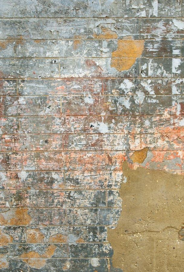 Download Grunge Wand stock abbildung. Illustration von antike, kleber - 9082287