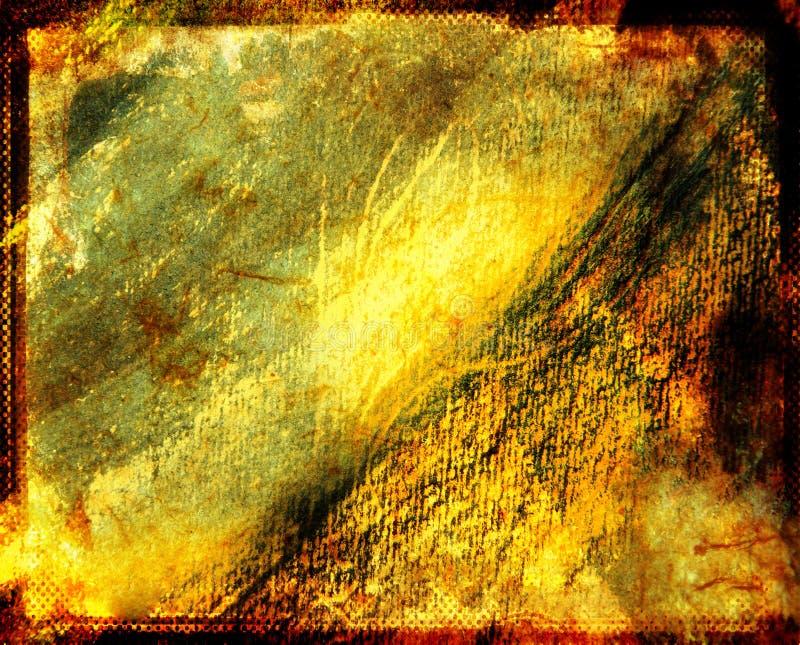 Grunge warm page royalty free illustration