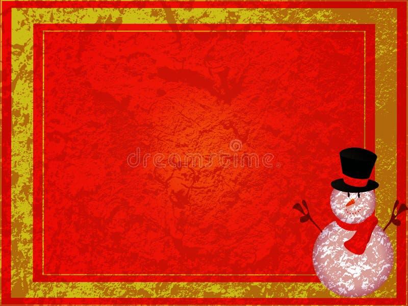 Grunge Weihnachten stock abbildung