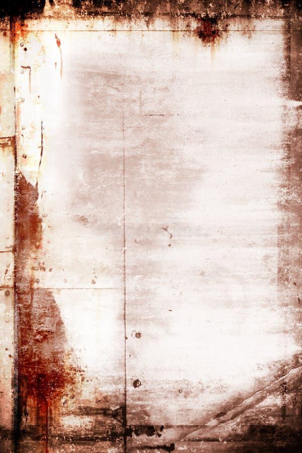 Grunge Weinlese-Fotofeld lizenzfreie stockfotos