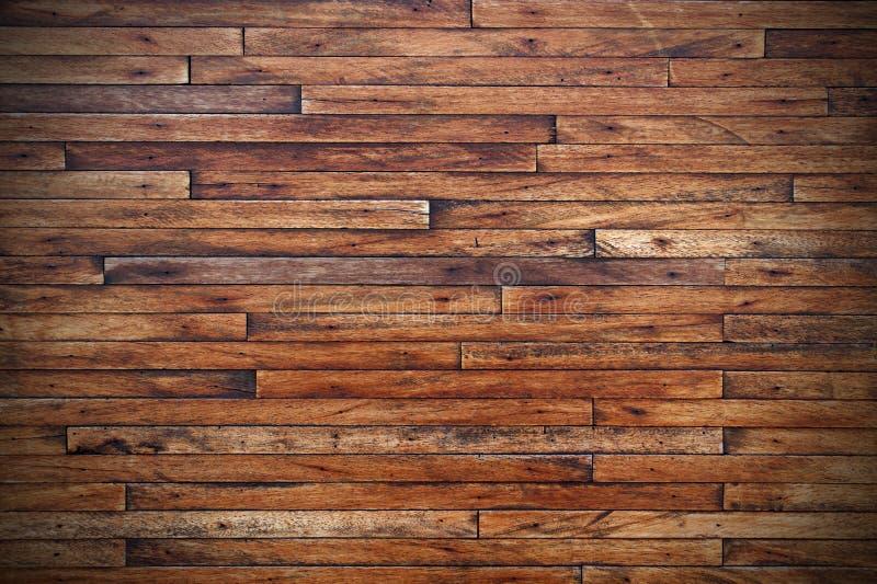Grunge Weinlese-Holz täfelt Hintergrund stockfoto