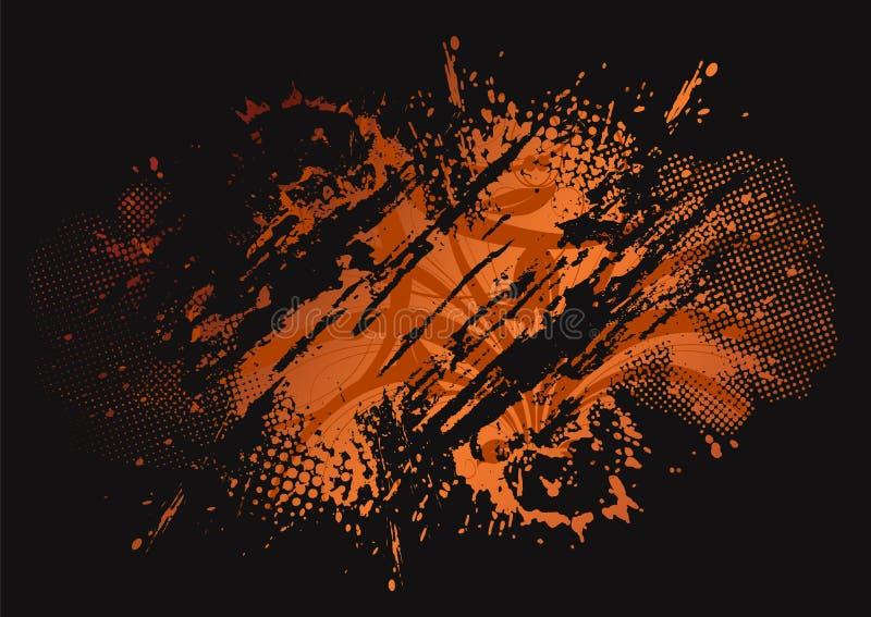 Grunge wektorowy tło eps8 ilustracji