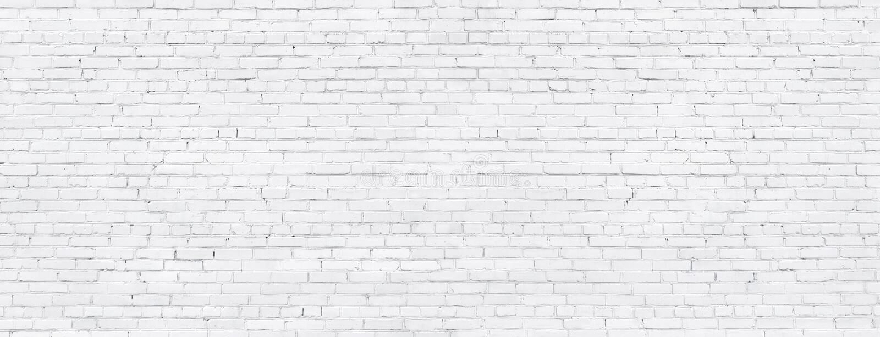 White brick wall, texture of whitened masonry as a background royalty free stock photos