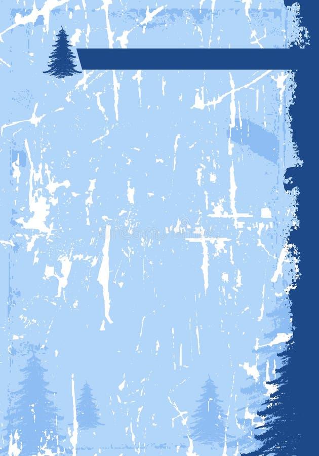 Download Grunge Winterhintergrund Stockbild - Bild: 3264281