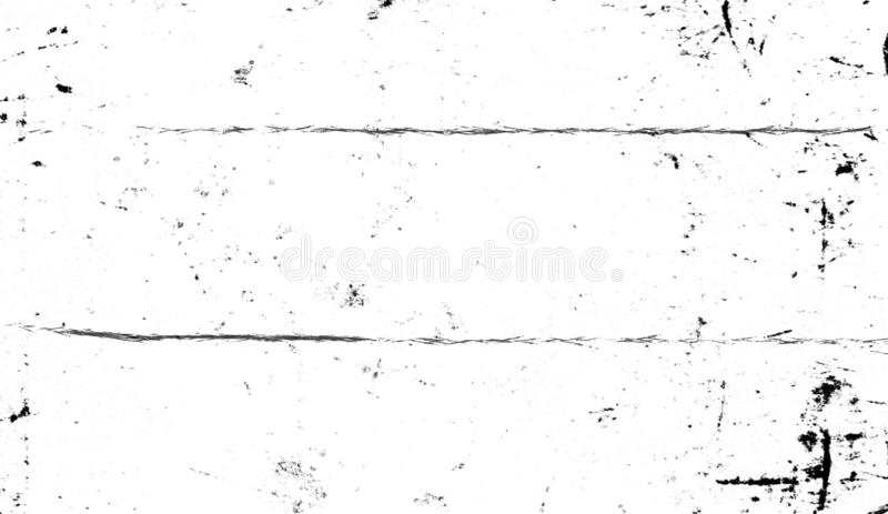 Grunge wit patroon Zwart-wit deeltjes abstracte textuur Grijs drukelement royalty-vrije illustratie