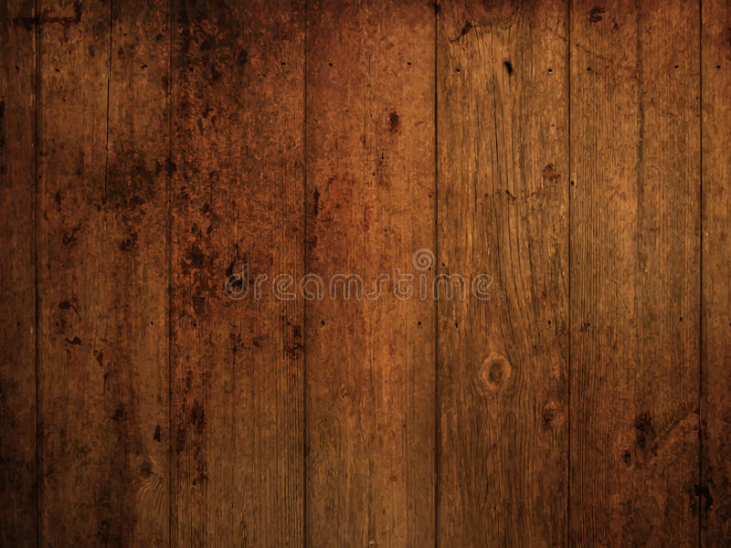 Grunge wood background. Wood texture background with a grunge effect vector illustration