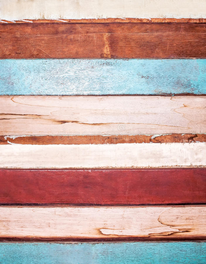 Grunge wooden board for Vintage background stock photo