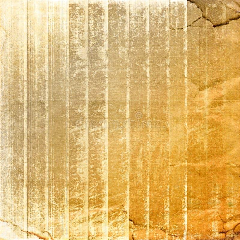 Grunge zerknitterte Papierauslegung lizenzfreie abbildung