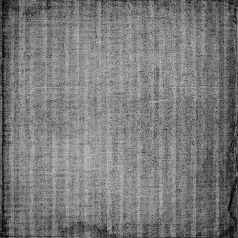 Grunge zerknitterte Papierauslegung stock abbildung
