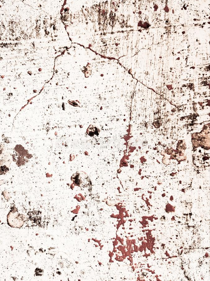 Grungeachtergrond met rode verfplons De grote grungetextuur kijkt als bloed royalty-vrije stock foto