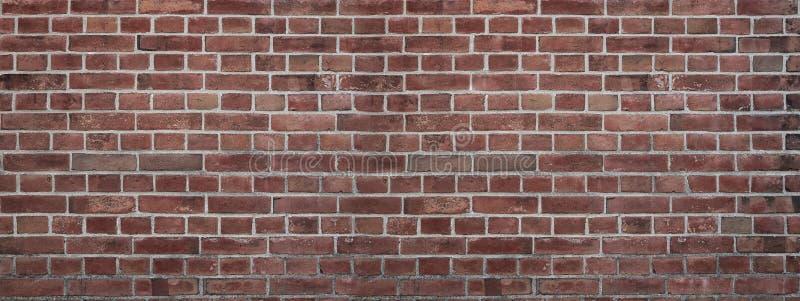 Grungeachtergrond van een muur van bakstenen stock afbeeldingen