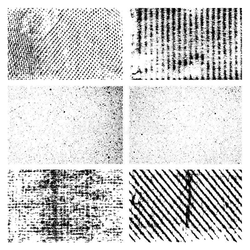 Grungebakgrunds- och ramvektor vektor illustrationer